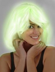Perruque phosphorescente femme