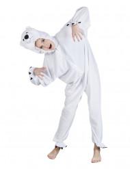 Déguisement ours polaire enfant