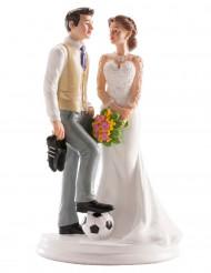 Figurine mariage couple humoristique