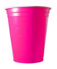 20 gobelets américain Original cup rose
