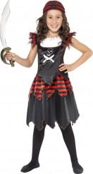 Déguisement pirate noir fille