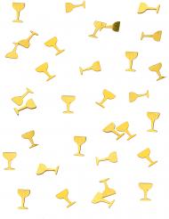 Confettis de table coupe de champagne