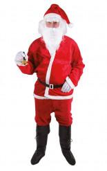 Déguisement  Père Noël adulte peluche