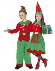 Déguisement de couple elfe enfant