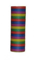 Rouleau de 18 serpentins 6m multicolore