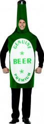 Déguisement bouteille de bière homme