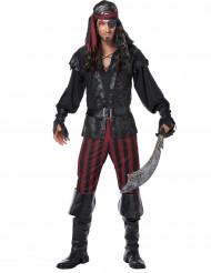Déguisement Pirate à rayures homme