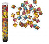 Canon confettis anniversaire 30 ans