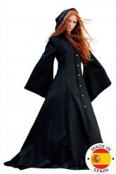 Déguisement manteau médiéval elfique femme - Premium