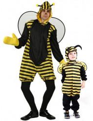 Déguisement de couple abeille père et fils