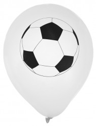 8 Ballons en latex Foot