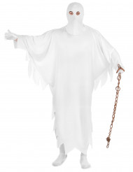 Déguisement fantôme blanc adulte
