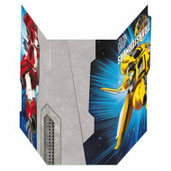 6 Cartes d'invitation Transformers™