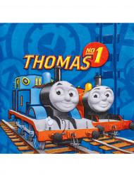 20 Serviettes en papier Thomas et ses amis™ 33 x 33 cm