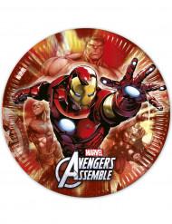 8 Assiettes 23 cm Avengers™