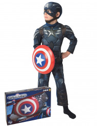 Coffret déguisement Captain America The Winter Soldier™ rembourré enfant