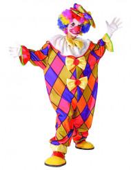 Déguisement Clown à carreaux enfant