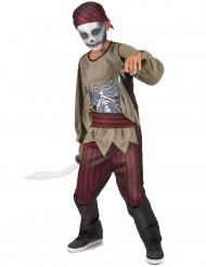 Déguisement pirate zombie garçon