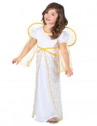 Déguisement ange blanc de Noël fille