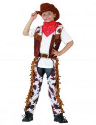 Déguisement cowboy shériff garçon
