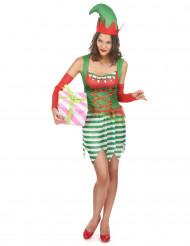 Déguisement elfe femme