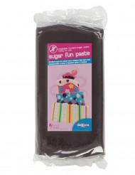 Pâte à sucre sans gluten noire 250 g