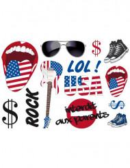 Stickers muraux USA
