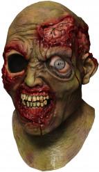 Masque intégral animé zombie borgne adulte