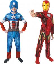 Déguisement duo Captain America™ et Iron Man™ garçon