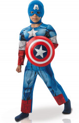 Déguisement luxe Captain America Avengers Assemble™ garçon