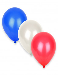 12 Ballons Supporter France 27 cm