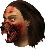 Masque intégral Hemlock Grove™ transformation loup-garou