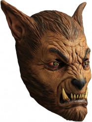 Masque loup-garou brun