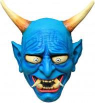 Masque démon Oni bleu