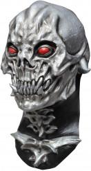 Masque crâne destructeur argent