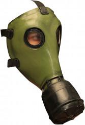 Masque à gaz vert