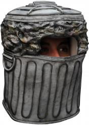 Masque de poubelle