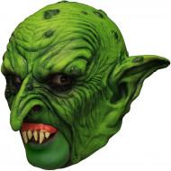 Masque 3/4 gnome vert avec dentier