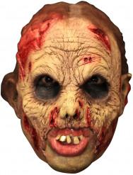 Masque 3/4 mort vivant deluxe avec dentier
