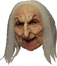 Masque 3/4 vieille sorcière deluxe