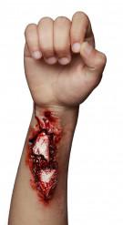 Fausse blessure ouverte au bras