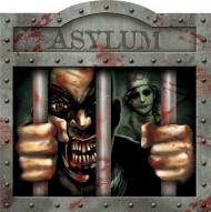Décoration murale asile Halloween