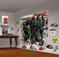 Kit de décoration murale Zombies