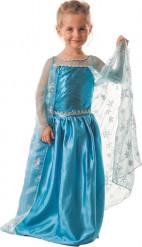 Déguisement princesse de glace bleue fille