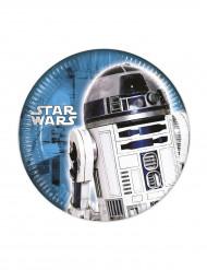 8 Petites assiettes Star Wars ™ 20 cm