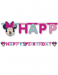 Guirlande Happy Birthday Minnie™ 200 x 16 cm