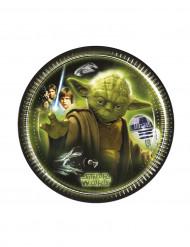 8 Assiettes Star Wars™ 20 cm