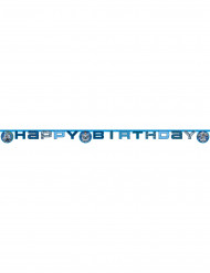 Guirlande Happy Birthday Max Steel™ 200 x 16 cm