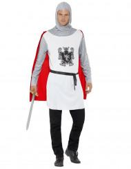 Déguisement chevalier blanc homme