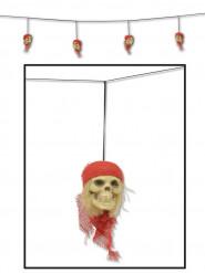 Guirlande crânes de pirates